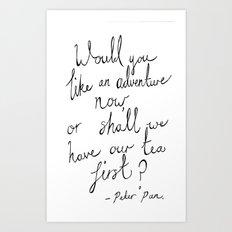 Peter Pan Adventure Art Print