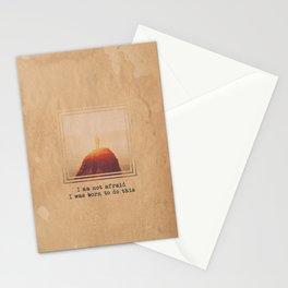 Not Afraid Stationery Cards