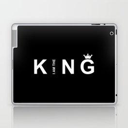 I Am The King #society6 #decor #buyart #artprint Laptop & iPad Skin