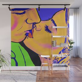 the kiss Wall Mural