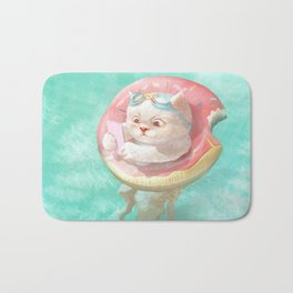Donut Pool Float Bath Mat