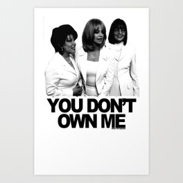 Are You A Member Of The First Wives Club? Art Print