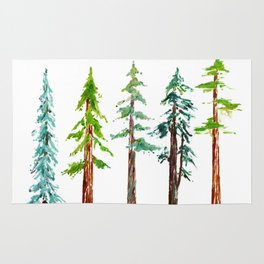 Tall Trees Please Rug
