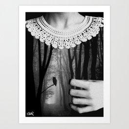 deep inside... Art Print