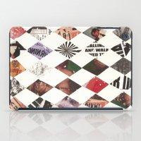 diamonds iPad Cases featuring DIAMONDS by Brandon Neher