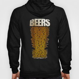 Beers types Hoody