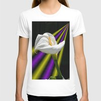 trumpet T-shirts featuring Trumpet Solo by SwanniePhotoArt
