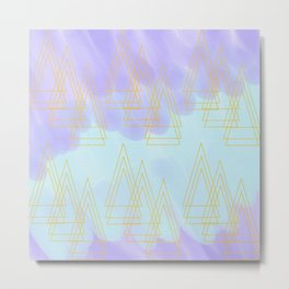 Trio of Triangles Metal Print