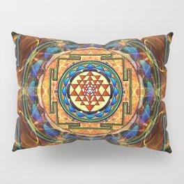 The Sri Yantra - Sacred Geometry Pillow Sham