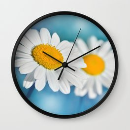 Daisy macro 083 Wall Clock