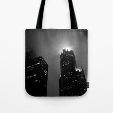 The Torch of Chicago Tote Bag