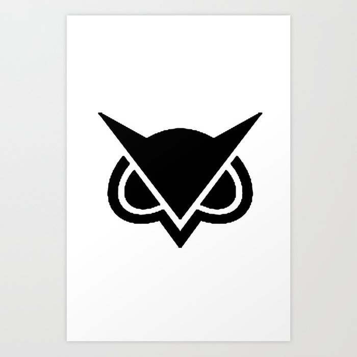 VanossGaming Owl Logo Art Print by swiftgaming
