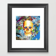 Solarized Framed Art Print