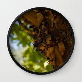 Peeling Bark Wall Clock