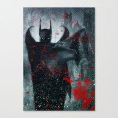 Shadow of the Bat Canvas Print