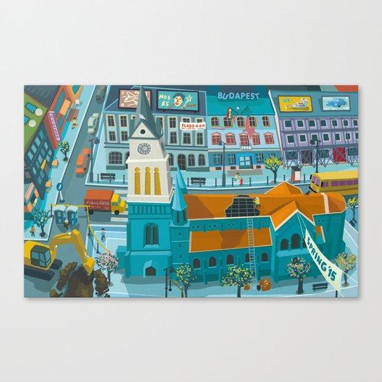Budapest spring '15 II. Canvas Print