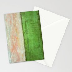 Landscape - Textured Abstract Painting Stationery Cards