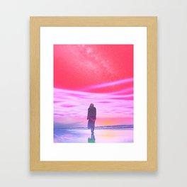 ENTER DREVMS II Framed Art Print