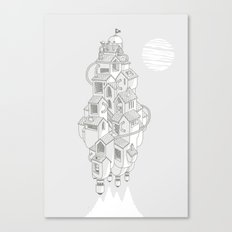 Homemadespaceship Canvas Print
