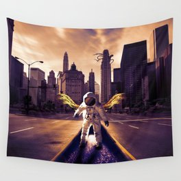 Back To Home Wall Tapestry