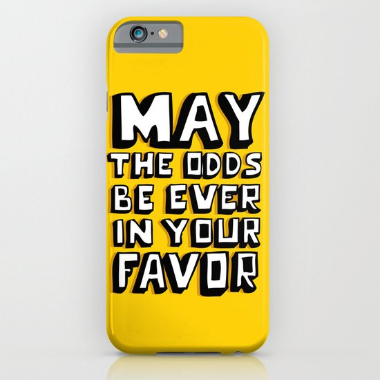 Happy Hunger Games! iPhone & iPod Case