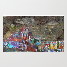 Graffiti in the wild Rug