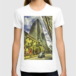 Canary Wharf London Art T-shirt