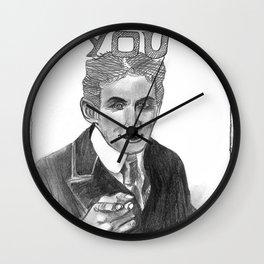 Houdini Wants You Wall Clock