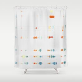 Fish Move Shower Curtain