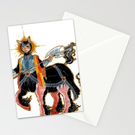Middle age Centaur Stationery Cards