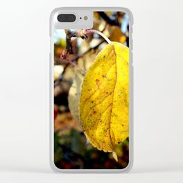 Leaves in full bloom Clear iPhone Case