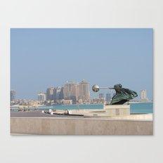 Katara, Doha, Qatar Canvas Print