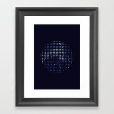 Mirrorball Framed Art Print