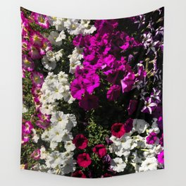 Petunia Tower Wall Tapestry