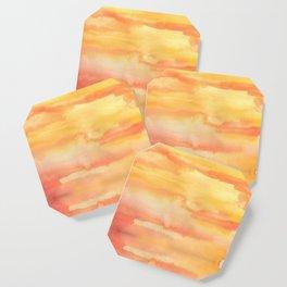 Apricot Sunset Coaster