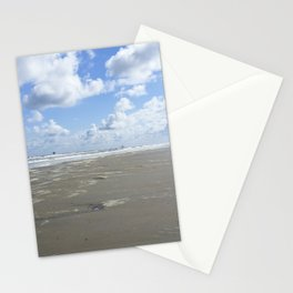 Cloudy seascape panorama Stationery Cards