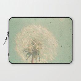 Dandelion Clock Laptop Sleeve