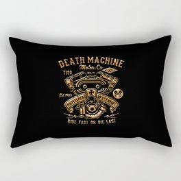 Death Machine Rectangular Pillow