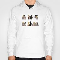 oitnb Hoodies featuring I Heart You OITNB by Vauseman Addict