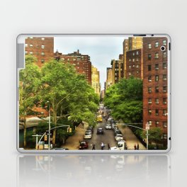 10th Ave and W 26th St New York City Laptop & iPad Skin