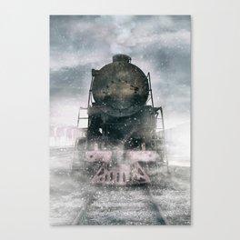 When the winter comes Canvas Print