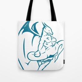 DUCOM Kickboxing Logo Tote Bag