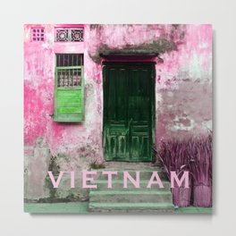 ANTIQUE CHINESE SOUND of HOI AN in VIETNAM Metal Print