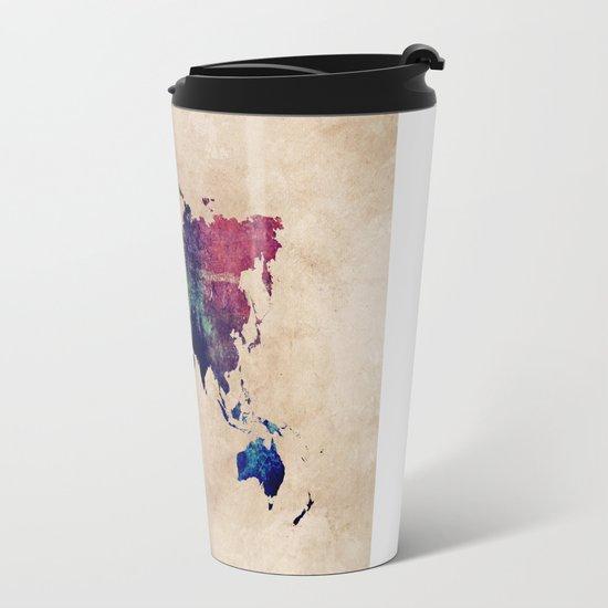 Cold world map travel mug by jbjart society6 sciox Image collections
