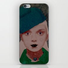 Noir iPhone & iPod Skin