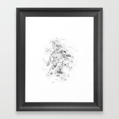 The Kid Framed Art Print