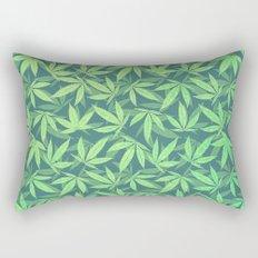Cannabis / Hemp / 420 / Marijuana  - Pattern Rectangular Pillow