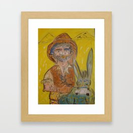 Sancho Panza Framed Art Print