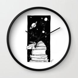 Enter a New Dimension Wall Clock