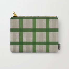 Evergreen Cozy Cabin Plaid Carry-All Pouch